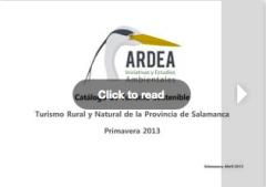 Catalogo actividades Ardea