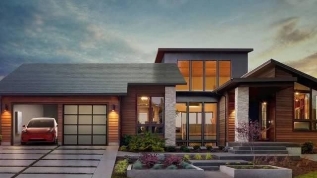 Ardeambiental 1 Tesla, tejados